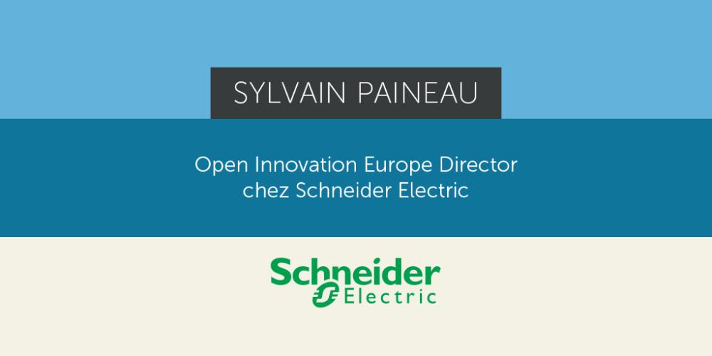 """[Interview ] Sylvain Paineau - Schneider Electric : """"L'objectif n'est pas de proposer une technologie de rupture, mais une innovation de marché."""""""